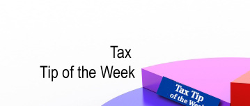 Tax Tip of the Month